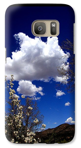 Galaxy Case featuring the photograph Inside The Mind Of Spring by Susanne Still
