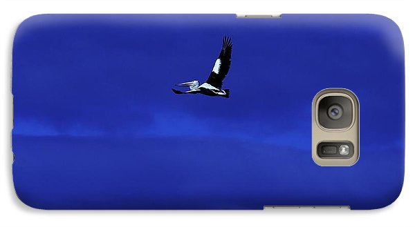 Galaxy Case featuring the photograph Into The Blue by Blair Stuart