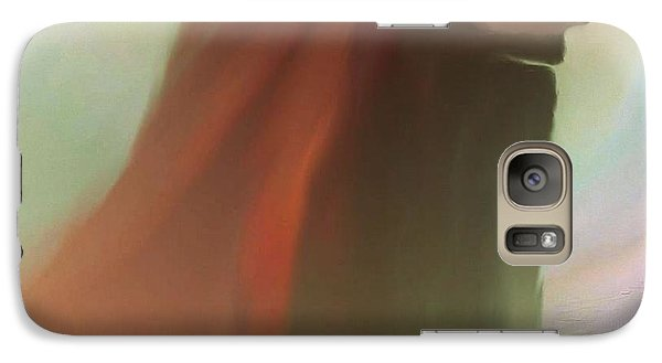 Galaxy Case featuring the painting Into The Light Of Jesus by Sherri  Of Palm Springs
