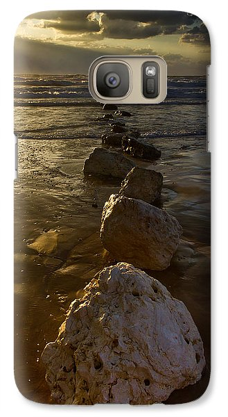Galaxy Case featuring the photograph Into The Sea by Nadya Ost