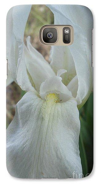 Galaxy Case featuring the photograph Iris Angel by Kerri Mortenson