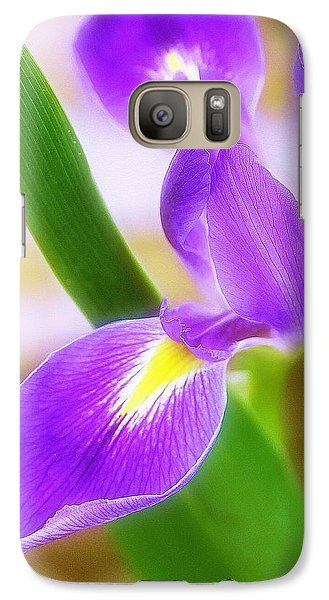 Galaxy Case featuring the photograph Iris On Pointe by Judi Bagwell
