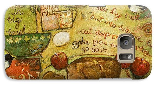 Magpies Galaxy S7 Case - Irish Brown Bread by Jen Norton