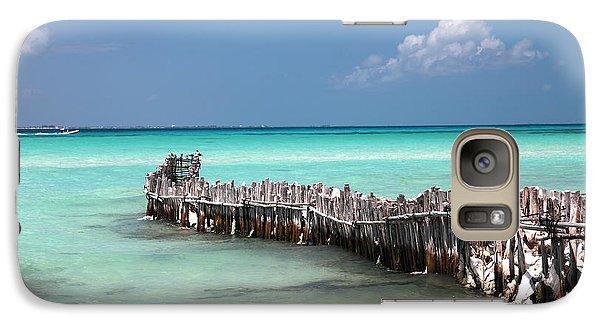 Galaxy Case featuring the photograph Isla Mujeres by Milena Boeva