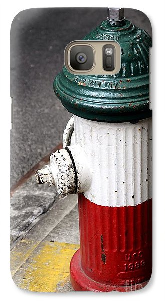 Italian Fire Hydrant Galaxy Case by Sophie Vigneault