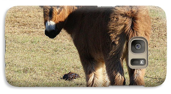 Galaxy Case featuring the photograph Its A Cow Pasture What Did You Expect by Roena King