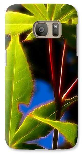 Galaxy Case featuring the photograph Japanese Maple Leaves by Judi Bagwell