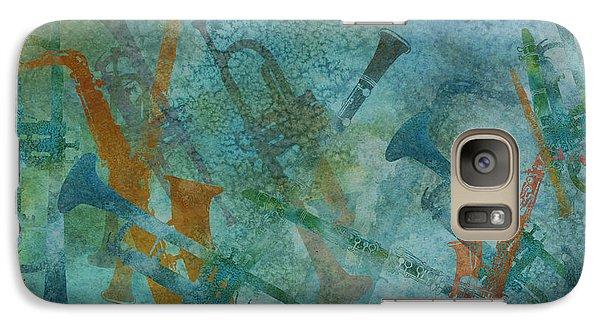 Jazz Improvisation One Galaxy S7 Case by Jenny Armitage