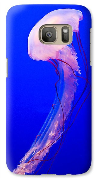 Galaxy Case featuring the photograph Jellyfish by Shane Kelly
