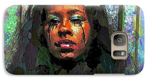 Galaxy Case featuring the photograph Jemai by Alice Gipson