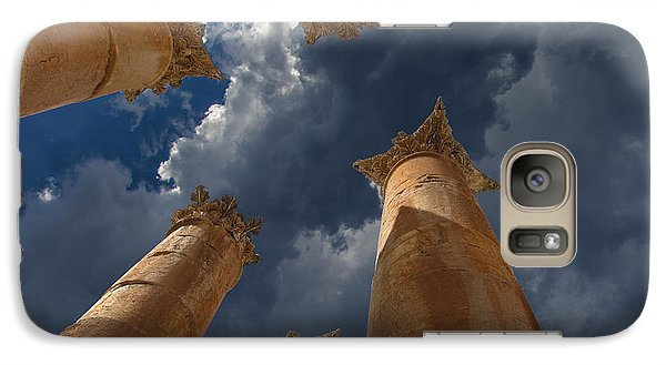 Galaxy Case featuring the photograph Jerash by David Gleeson