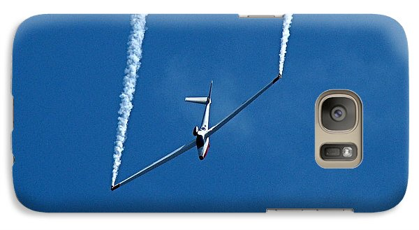 Galaxy Case featuring the photograph Jet Powered Glider by Nick Kloepping