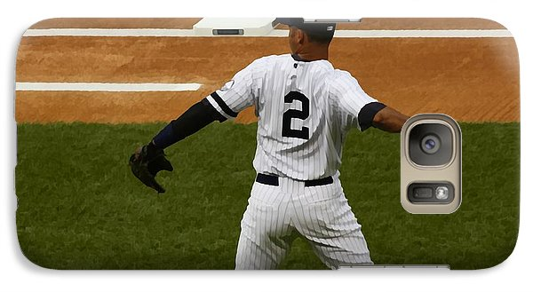 Galaxy Case featuring the photograph Jeter by Michael Albright
