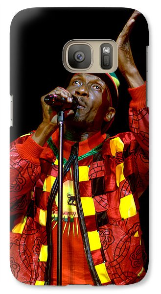 Galaxy Case featuring the photograph Jimmy Cliff by Jeff Ross