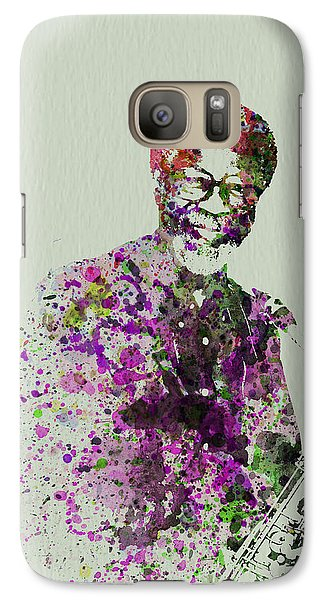 Saxophone Galaxy S7 Case - Joe Henderson Watercolor  by Naxart Studio