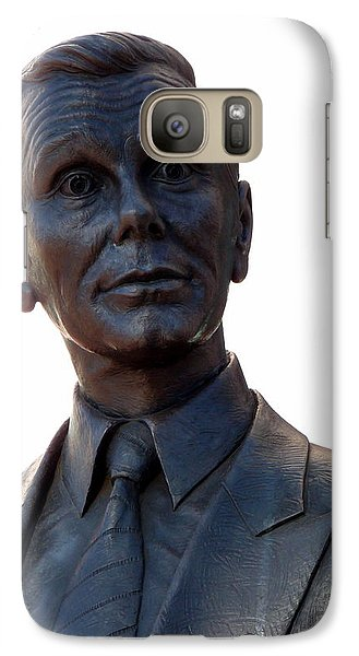 Johnny Carson Galaxy S7 Case by Jeff Lowe