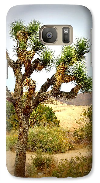 Galaxy Case featuring the photograph Joshua Tree by Jim McCain