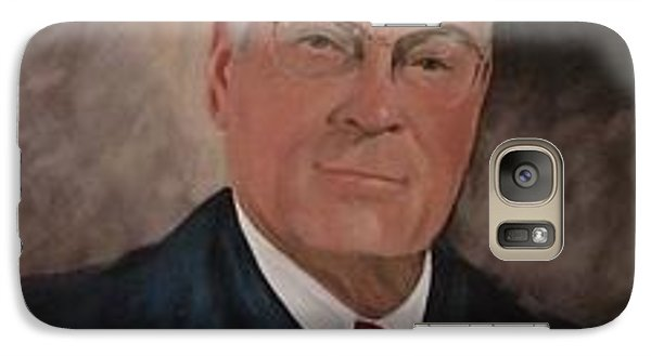 Galaxy Case featuring the painting Judge J.s. Daniel by Carol Berning