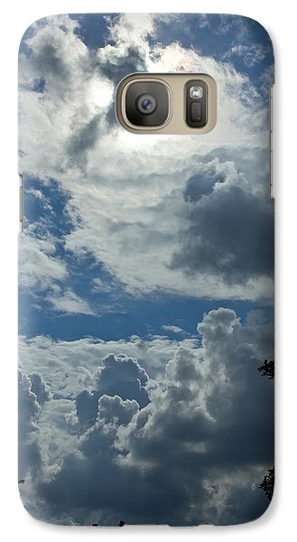 Galaxy Case featuring the photograph Judgment Day by Nadya Ost
