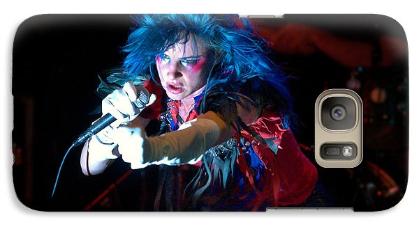 Galaxy Case featuring the photograph Juliette Lewis by Jeff Ross