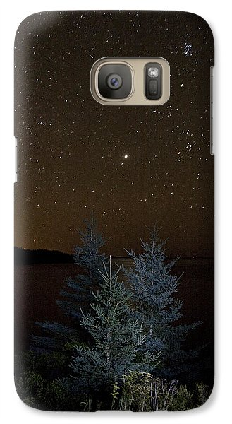 Galaxy Case featuring the photograph Jupiter  Over Otter Point 2 by Brent L Ander