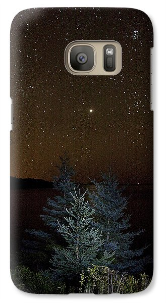 Galaxy Case featuring the photograph Jupiter  Over Otter Point 3 by Brent L Ander