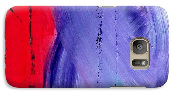 Galaxy Case featuring the painting Just Color by Carolyn Repka
