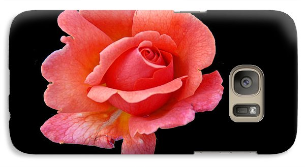 Galaxy Case featuring the photograph Just Peachy by Cindy Manero