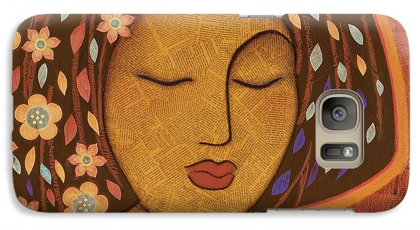 Galaxy Case featuring the painting Kali by Gloria Rothrock