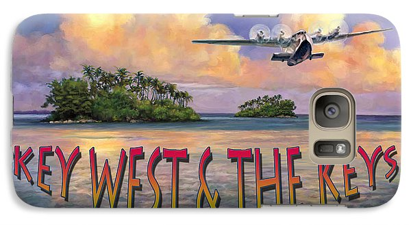 Galaxy Case featuring the painting Key West Air Force by David  Van Hulst