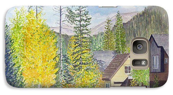 Galaxy Case featuring the painting Keystone Co by Carol Flagg