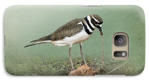 Killdeer And Worm Galaxy S7 Case by Betty LaRue