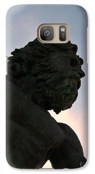 Galaxy Case featuring the photograph King Of The Sea II by Nancy Dole McGuigan