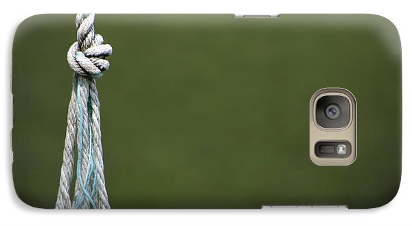Galaxy Case featuring the photograph Knot by Kelly Hazel