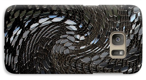 Galaxy Case featuring the photograph Lacey Abstract2 by Karen Harrison