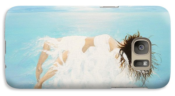 Galaxy Case featuring the painting Lady Of The Water by Kume Bryant