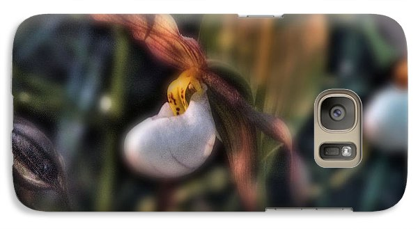 Galaxy Case featuring the photograph Lady Slipper1 by Janie Johnson