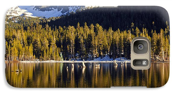 Galaxy Case featuring the photograph Lake Mary Reflections by Lynn Bauer