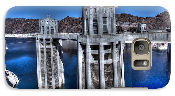 Galaxy Case featuring the photograph Lake Mead Hoover Dam by Jonathan Davison