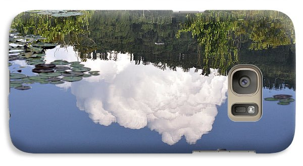 Galaxy Case featuring the photograph Lake Reflection by Kay Lovingood