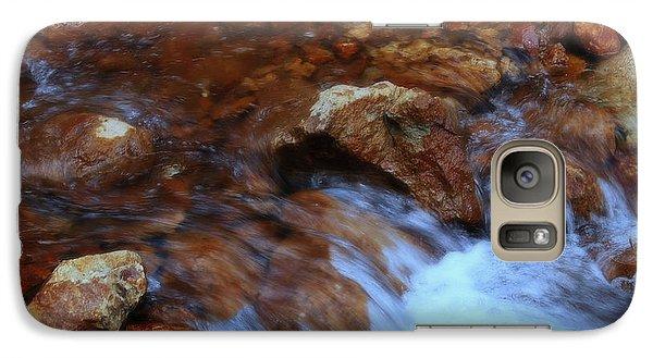 Galaxy Case featuring the photograph Lake Shasta Waterfall  by Garnett  Jaeger