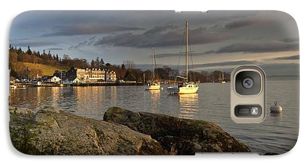 Galaxy Case featuring the photograph Lake Windermere Ambleside, Cumbria by John Short