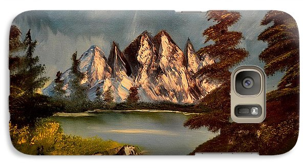 Galaxy Case featuring the painting Lakeview by Maria Urso