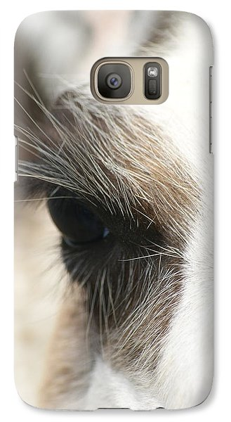 Galaxy Case featuring the photograph Lama by Heidi Poulin