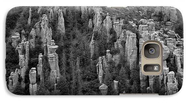 Galaxy Case featuring the photograph Land Of Standing Up Rock  by Vicki Pelham