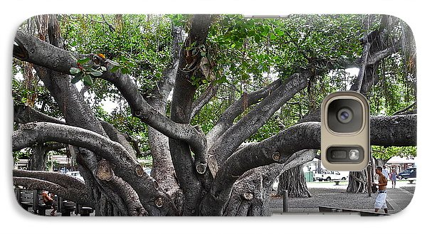 Galaxy Case featuring the photograph Largest Banyan Tree In The Usa by Kirsten Giving