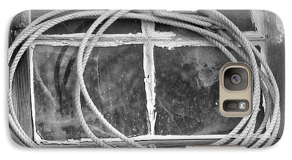 Galaxy Case featuring the photograph Lasso In The Window  by Deniece Platt