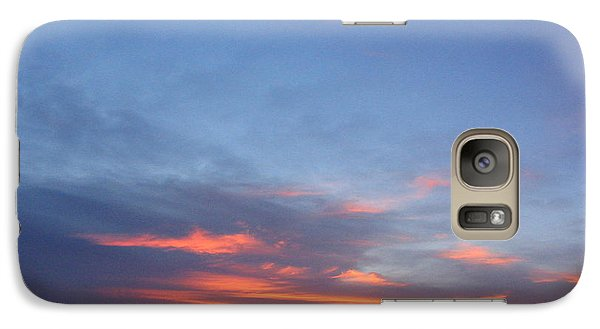 Galaxy Case featuring the photograph Last Flame by Mark Robbins