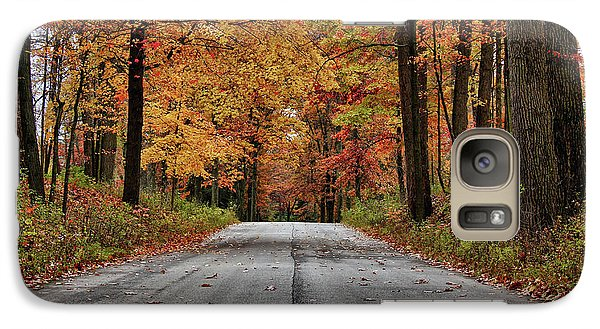 Galaxy Case featuring the photograph Late Autumn Embrace by Rachel Cohen