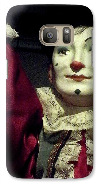 Galaxy Case featuring the photograph Late Night Pilgrim by Newel Hunter